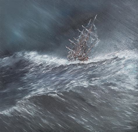 cape horn boat tours hms beagle in a storm off cape horn painting by vincent