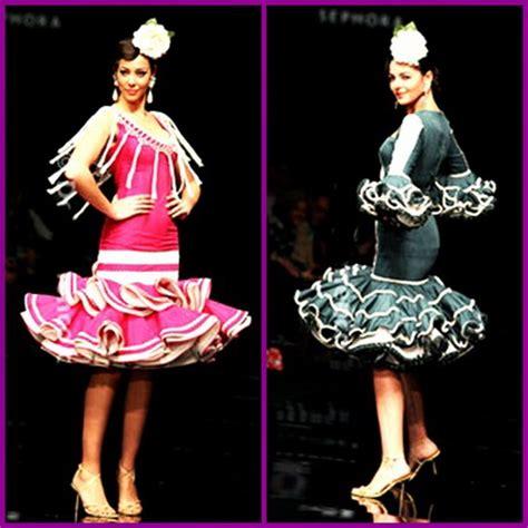 vestido gitana corto trajes flamenca cortos