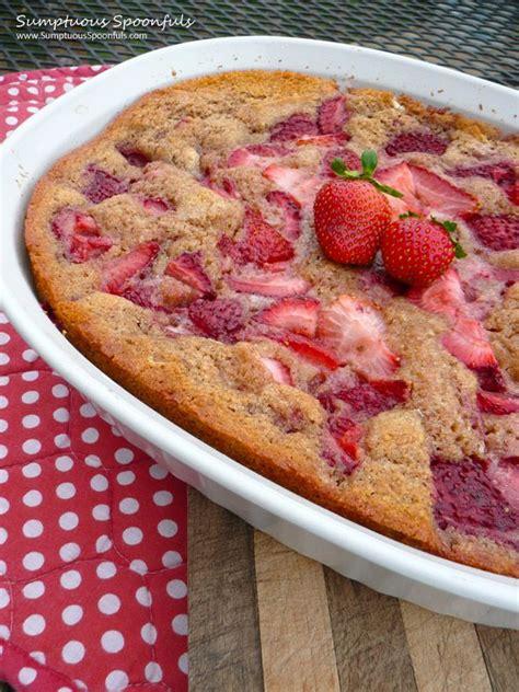 fresh easy strawberry cobbler recipe