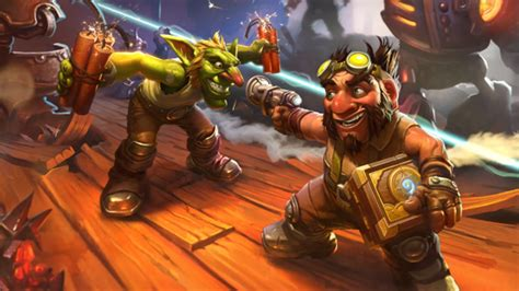 Hearthstone Pack Giveaway - hearthstone goblins vs gnomes activated in europe three free packs for all pcgamesn