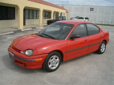 car owners manuals for sale 1995 dodge neon electronic toll collection 1995 dodge neon sport details ft pierce fl 34982