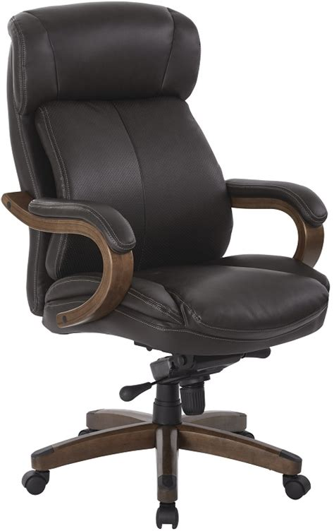 Wood And Leather Desk Chair by Wood And Leather Desk Chair