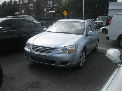 Kia Spectra Light 2008 Kia Spectra Light Blue Best Auto Outlet