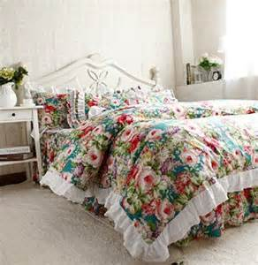 country style comforters fadfay home textile korean elegant floral bedding set
