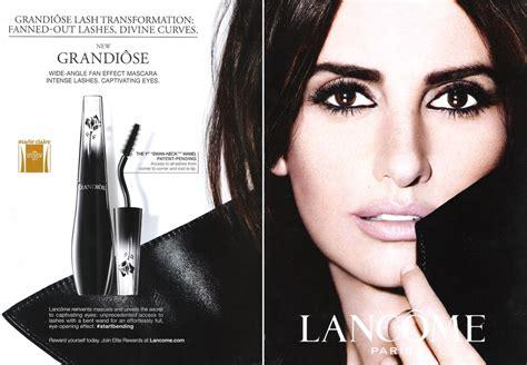 Makeup Lancome penelope endorsements