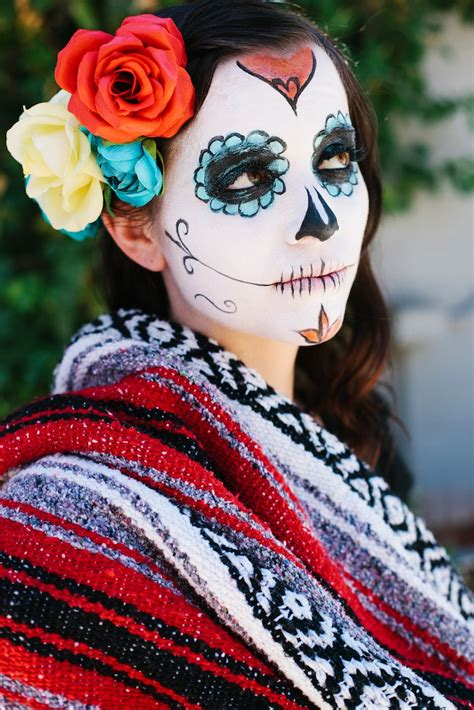 Day Of The day of the dead makeup magazineemma magazine