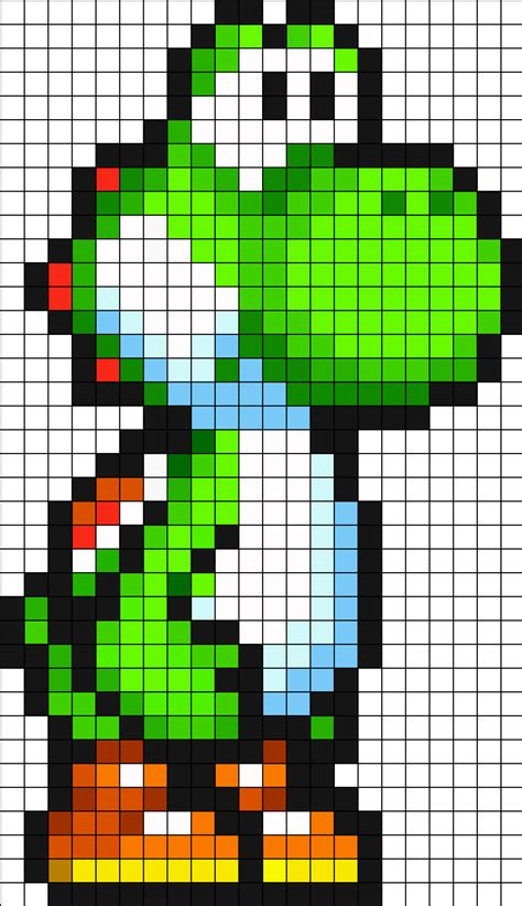 pixel character 6 yoshi by meowmixkitty on deviantart green yoshi ds by vickicutebunny on deviantart