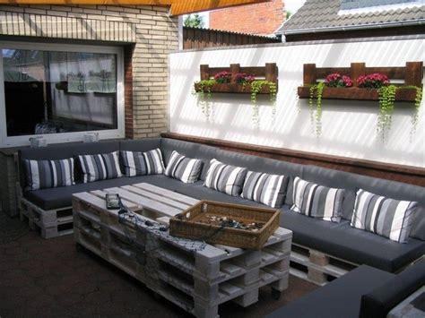 lounge aus paletten anleitung 60 wohnideen mit