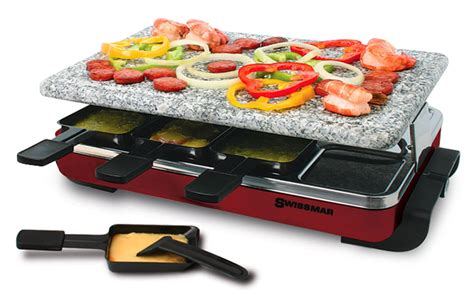 Victorinox Knives Kitchen Swissmar Classic Raclette Grill With Granite Stone 8