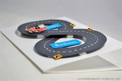 how to make a car card create it with paper birthday card