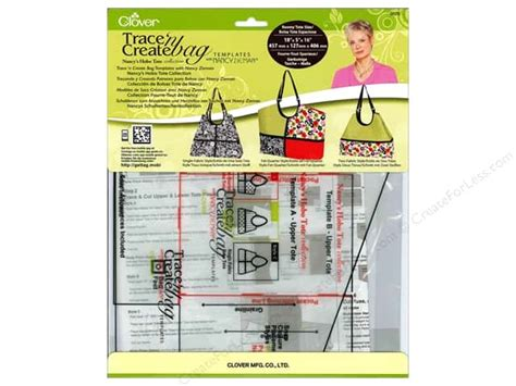 trace n create bag templates clover trace n create bag templates hobo tote