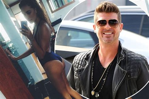 april love geary robin thicke robin thicke ignores blurred lines controversy as he