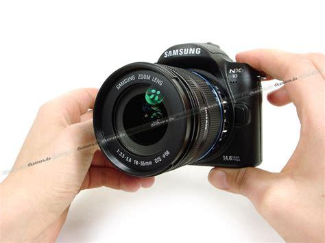 Kamera Samsung Nx10 die kamera testbericht zur samsung nx10 testberichte dkamera de das digitalkamera magazin