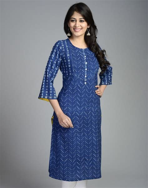design pattern kurti cotton printed bell sleeves long kurta salwar patterns