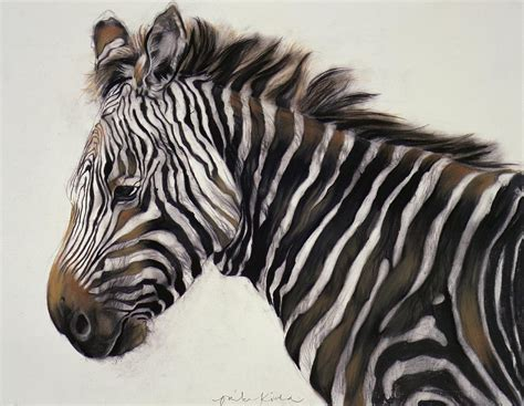 zebra paint zebra painting by odile kidd