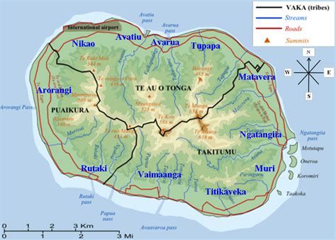 cook islands map rarotonga cook islands map pictures to pin on pinsdaddy