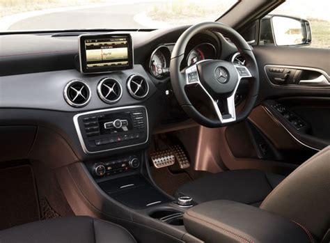 interior gla 200 2014 mercedes benz gla review