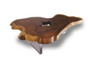 Petrified wood accent table wood table petrified wood console table