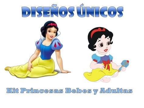 blancanieves bebe kit imprimible completo blanca nieves bebe baby adulta