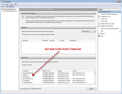 how to schedule a task in windows how to automatically shut down your windows 7 computer