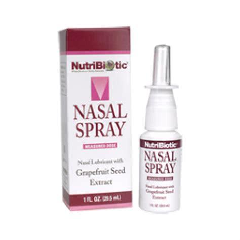 Nasalin Spray nutribiotic nasal spray with gse 1 oz