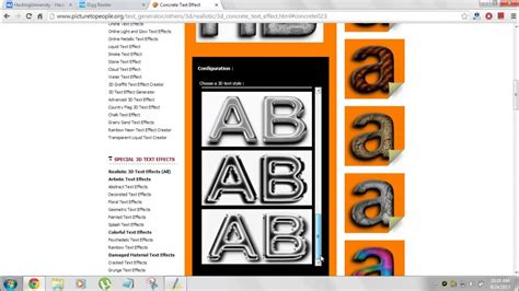design text maker online how to create some nice 3d text effects online using 3d