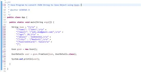 pattern quote java how to convert json string to java object gson json