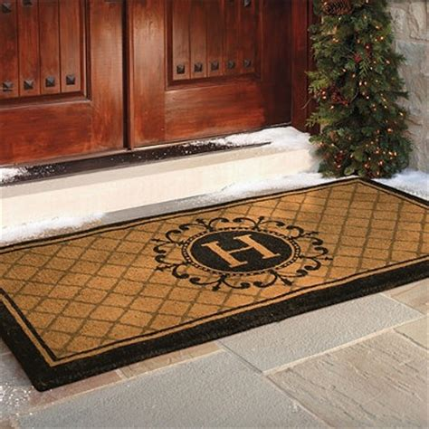 Door Mat Home D 233 Cor Inspiration Pinterest Monogram Front Door Mat