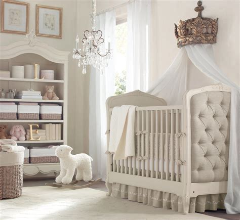 Restoration Hardware Colette Crib by A Posh Neutral Nursery 10 Nurseries You To See To
