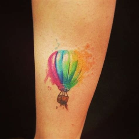 watercolor tattoos new york 17 best ideas about air balloon on