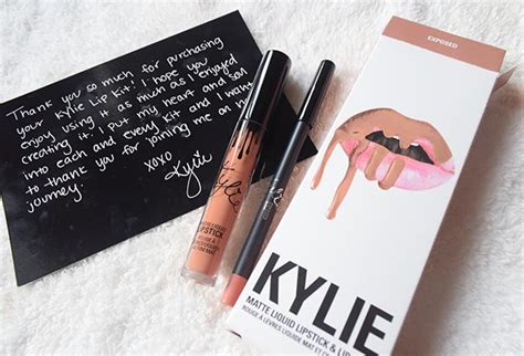 Cosmetics Gloss Exposed makeup product review jenner s exposed lip kit