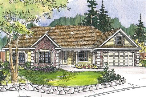 classic ranch house plans new ranch house plan hshire 30 799 sloping lot house plan associated designs