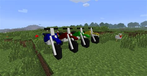 minecraft motorcycle the dirtbike mod minecraft mods