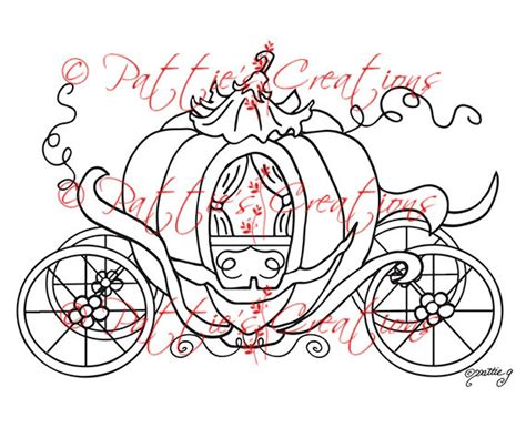 pumpkin carriage coloring page cinderella pumpkin coach coloring page kids coloring