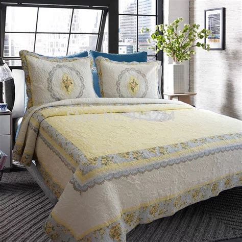 Bedspreads And Quilts Store Aliexpress Buy Small Flower Pastoral Europe Brand