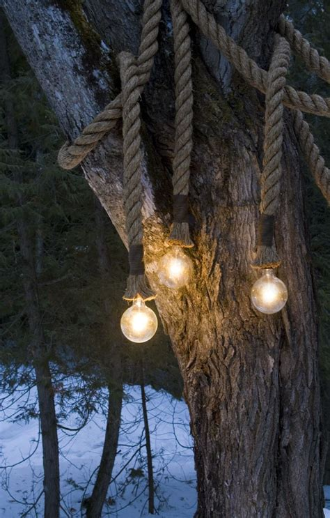 outdoor rope lights design products pinterest