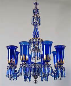 blue chandelier light important blue glass chandelier and pair of matching wall