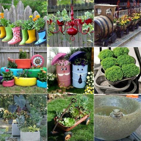 Make Your Own Garden Planters by 19 Diy Garden Planters And Ideas For Gorgeous Gardens
