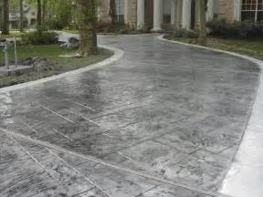 concrete pavers driveway of j s custom concrete
