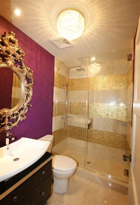 purple and gold bathroom 38 glam gold accents and accessories for your interior digsdigs