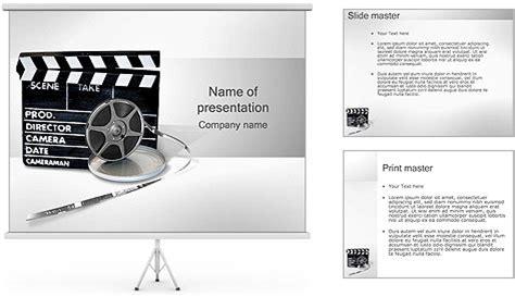 Template Vorlage Powerpoint Clapper Board Und Filmrolle Powerpoint Vorlagen Und Hintergr 252 Nde Id 0000001249 Smiletemplates