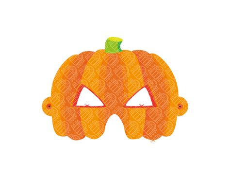 printable paper halloween masks 9 best images of printable paper pumpkin pumpkin writing