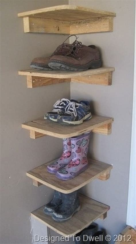 how to put up shelves 17 interesting ideas how to store your shoes
