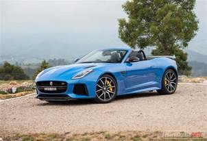 Jaguar F Type 2017 Jaguar F Type Svr Review Performancedrive