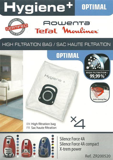 saci hygiene plus pentru aspiratorul rowenta silence 4a zr2005