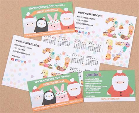 Calendario Kawaii Check Out Our Kawaii Business Cards And 2017 Calendar