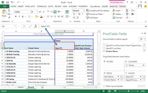 Change Pivot Table Naming Columns Clearify
