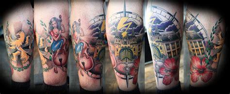 onderbeen 171 pointbreak tattoo