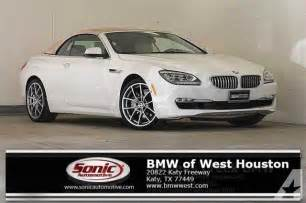 Bmw Katy Tx 2014 Bmw 6 Series 650i 650i 2dr Convertible For Sale In