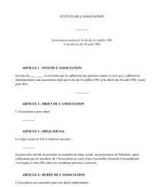 modele statuts pour association 1901 document